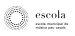 Logo Escola Música sobre blanc