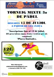 07 04 CARTELL TORNEIG MIXTE 3a PÀDEL web
